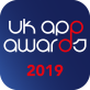 UK App Awards19 Badge