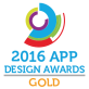 Badge for 2016 App Design Award