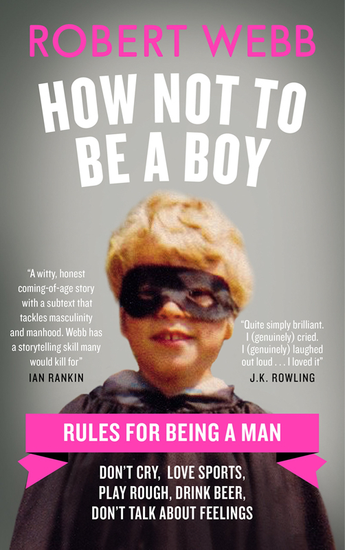 How not to be a boy book cover