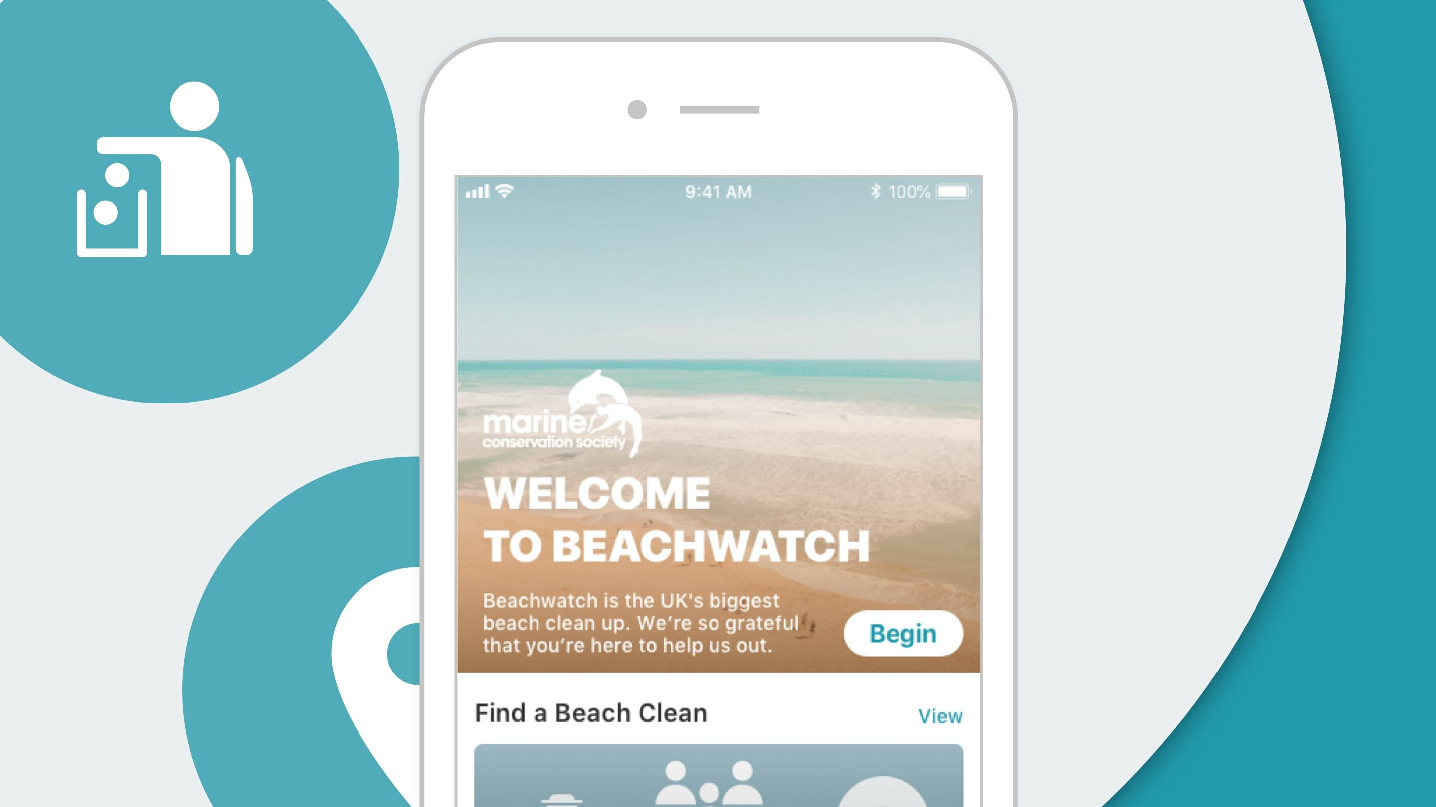 MCS beachwatch hero of the apps home screen